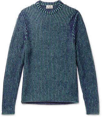 Acne Studios Kaiser Slim-Fit Striped Knitted Sweater