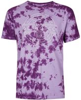 Dc Purple Acid Wash T-shirt