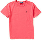Ralph Lauren Little Boys 2T-7 Solid Short-Sleeve Tee