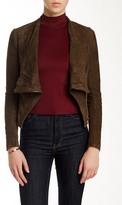 Muu Baa Muubaa Asymmetrical Suede Jacket