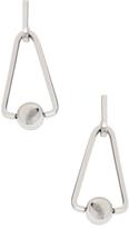 Rebecca Minkoff Large Triangle & Bead Drop Earrings