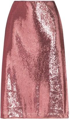 HVN Wiona sequin-embellished skirt