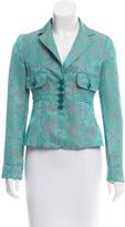 Etro Jacquard Short Jacket