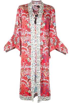 Alice + Olivia Floral Print Kimono