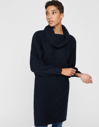 Monsoon Connie Cowl Neck Knit Dress