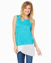 Charming charlie Colorblock Tunic Tank