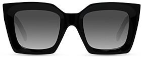 Celine Women's Square Gradient Polarized Sunglasses, 55mm