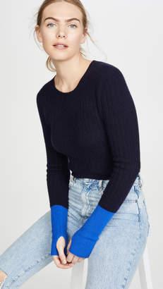 Naadam Colorblock Cashmere Sweater