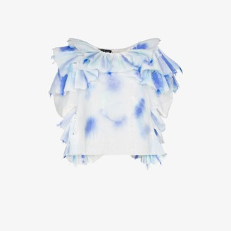 Susan Fang Ruffled Feather Top