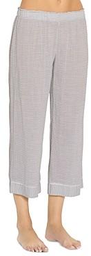 Eberjey Cropped Striped Sleep Pants