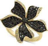 Effy Final Call Diamond Flower Statement Ring (1-1/6 ct. t.w.) in 14k Gold