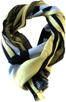 Givenchy Yellow Wool Scarves