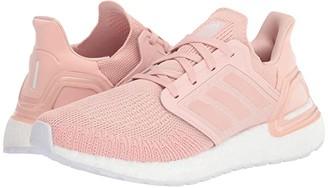 adidas Ultraboost 20 (Core Black/Pink Tint/Grey Four) Women's Running Shoes