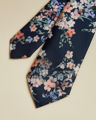 Ted Baker KNOTTIE Silk Cluster Floral Print Tie