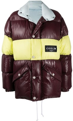 COOL T.M Reversible Padded Stripe Coat