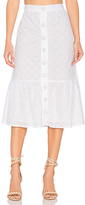 Clayton Vine Eyelet Anita Skirt in White. - size S (also in )
