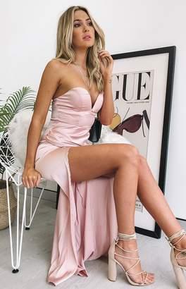 Beginning Boutique Blake Formal Dress Champagne