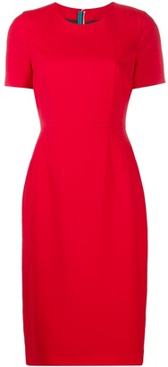 Paul Smith Short Sleeved Midi Dress