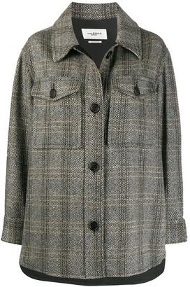 Etoile Isabel Marant Garvey herringbone jacket