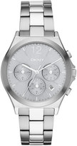 DKNY Women's Chronograph Parsons Two-Tone Stainless Steel Bracelet Watch 38mm NY2451