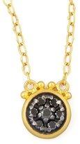 Gurhan Moonstruck 24k Black Diamond Pendant Necklace