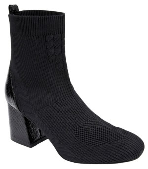 JANE AND THE SHOE Women's Cherry Stretch Sock Booties Women's Shoes