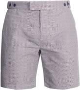 FRESCOBOL CARIOCA Tailored Angra-print swim shorts