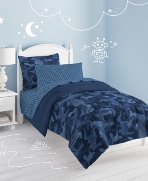 Dream Factory Geo Camo 5-Pc. Twin Bed-in-a-Bag Bedding