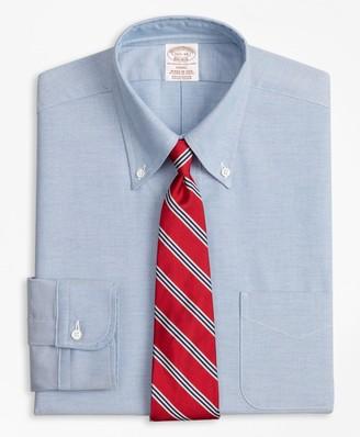 Brooks Brothers Original Polo Button-Down Oxford Soho Extra-Slim-Fit Dress Shirt