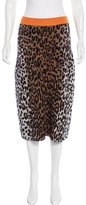 Stella McCartney 2016 Leopard Skirt w/ Tags
