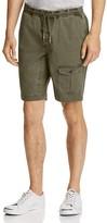 Michael Bastian Garment Dyed Drawstring Cargo Shorts