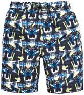 Very Boys Printed Swim Shorts