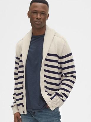 Gap Shawl Collar Sweater