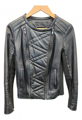 Comptoir des Cotonniers Black Leather Leather jackets