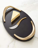 Nambe Eco Cheese Board with Knife