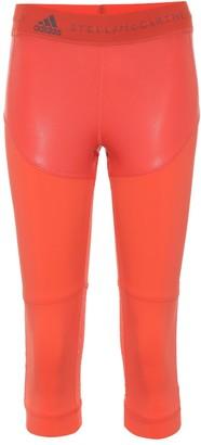 adidas by Stella McCartney Cropped running leggings