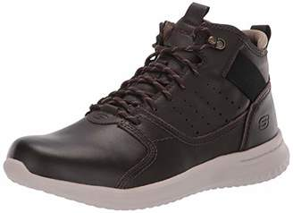 Skechers Men's DELSON-ORTEGO Trainers, Brown Chocolate, 10 (45 EU)