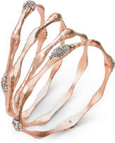 macys klein crystal off tone shop rose anne row bangle on macy bracelets gold link now sale bangles bracelet multi created s pave for