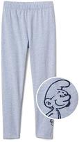 Gap GapKids | The Smurfs embellished graphic leggings
