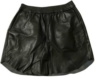 Samsoe & Samsoe Black Leather Skirts