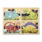Melissa & Doug 4-in-1 Dinosaur Jigsaw Puzzle
