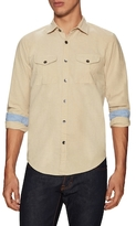 Gilded Age Cotton Spread Collar Sportshirt
