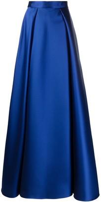 Alberta Ferretti A-line maxi skirt