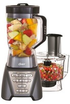 Oster Pro 1200 Blender Plus Food Processor - Metallic Grey BLSTMB-GT