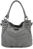 Scarleton Washed Hobo Bag H153304A - Brown