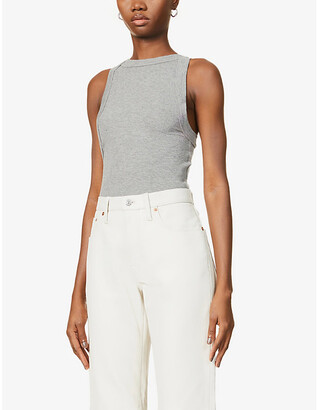The Line By K Ximeno sleeveless stretch-jersey top
