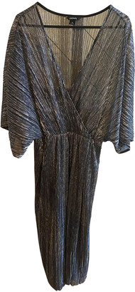 Monki Silver Polyester Dresses