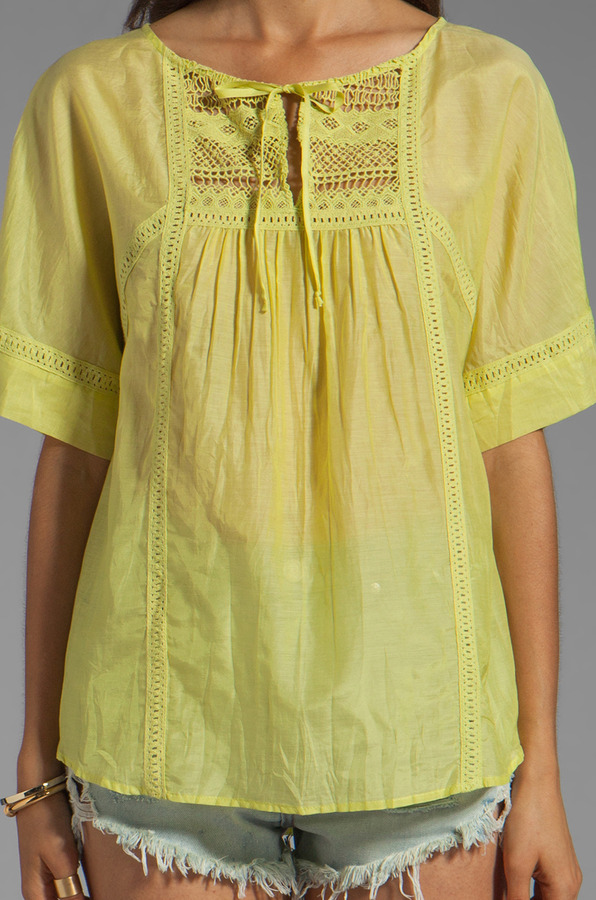 Twelfth St. By Cynthia Vincent By Cynthia Vincent Peasant Blouse