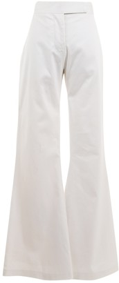 Tom Ford White Cotton Trousers for Women