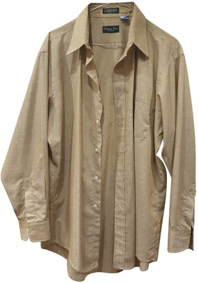 Christian Dior Beige Cotton Shirts